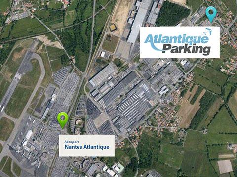 accès aéroport nantes atlantique